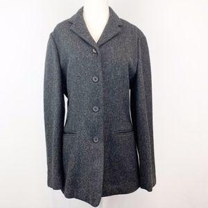 Lauren RL Lamb's Wool Herringbone Tweed Jacket